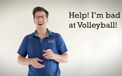 Help! I'm Bad at Volleyball!